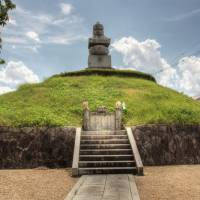 Morbid Mound: The Mimidzuka ear mound in which are interred the noses and ears of Koreans killed during Japanese invasions of the Peninsula in the late 16th century. | ALON ADKA PHOTO