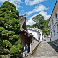 Close to nature: Ozawa Sake Brewery, maker of the renowned Sawanoi brand, offers free tours and tastings. | STEPHEN MANSFIELD PHOTO