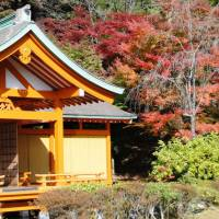 The shrine on the grounds of Heike no Sato. | PHOTO MANDY BARTOK