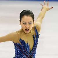Olympic quest continues: Two-time world champion Mao Asada will be the favorite at the NHK Trophy in Tokyo this week   KYODO