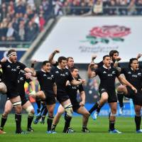 Prepare yourself: New Zealand's All Blacks have the first perfect season in rugby's professional era firmly within their sights. | AFP-JIJI