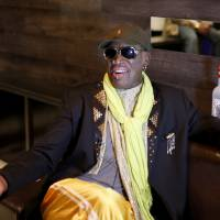 Traveling man: Dennis Rodman is ready to make another trip to North Korea.   AP