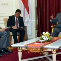 Mayor briefs Indonesian leader on recovery