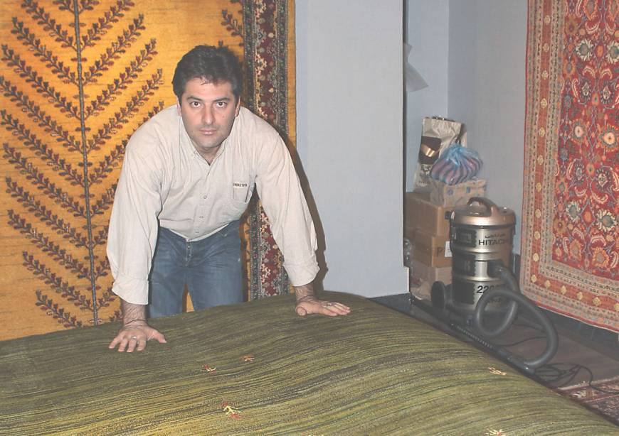 Iranian Nomads Gabbeh Carpets All The Rage In Japan The