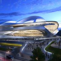 If you build it: The planned new National Stadium designed by architect Zaha Hadid is coming under criticism for its massive size. | JAPAN SPORT COUNCIL