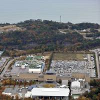 Reopening goal: The J-Village facility near the crippled Fukushima No. 1 nuclear power plant may be used once again as a soccer training center, possibly from 2018. | KYODO