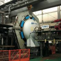 Disposer: A Davinci chemical arms disposal device can disintegrate sarin by detonating the gas in a vacuum chamber.  | KOBE STEEL