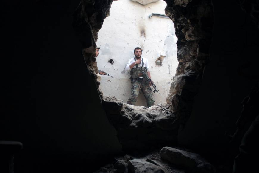Fledgling Syria rebel government faces uphill battle