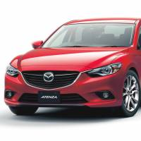 Prestige: The Atenza sedan built by Mazda Motor Corp. won a car of the year award on Wednesday | KYODO