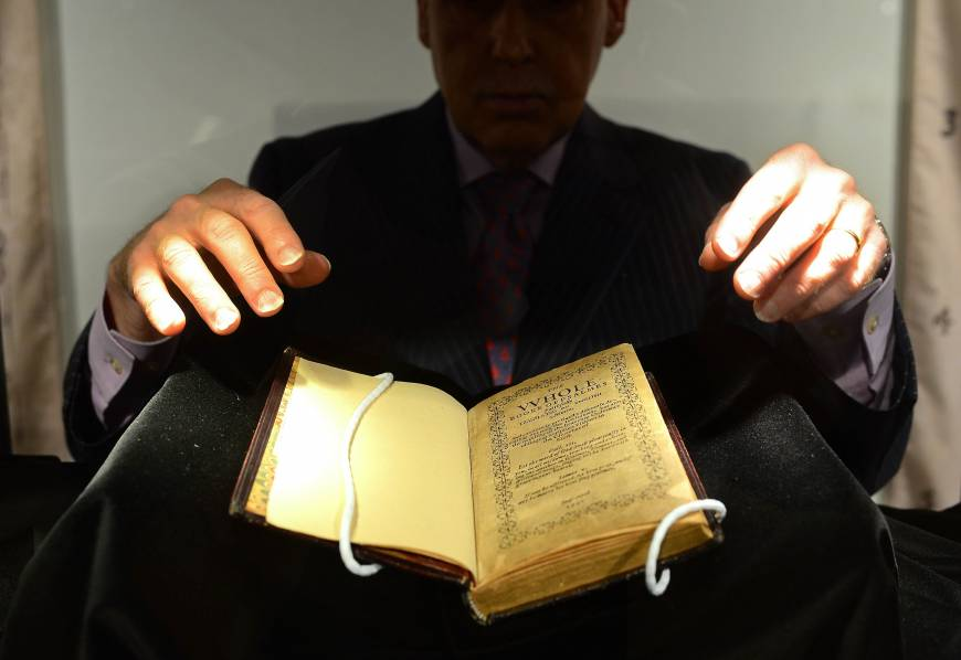 World's most expensive book auctioned for $14 million in New York