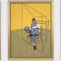 Top dollar: 'Three Studies of Lucian Freud,' a triptych by Francis Bacon of his artist friend, was sold at auction Tuesday in New York for a world-record $142.4 million | AP