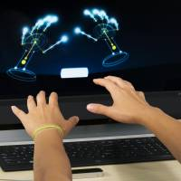Reaching out: The Leap Motion Controller, which went on sale earlier this year, was among the motion-detecting and touch-sensitive controllers discussed at the Game Developers Conference Next at the Los Angeles Convention Center on Nov. 5-7 | AP