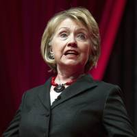 Eye on the White House?: Former Secretary of State Hillary Rodham Clinton addresses the 51st Delta Sigma Theta National Convention in Washington in July | AP