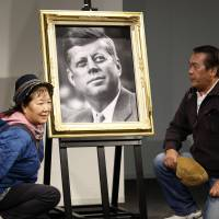 Japan admiringly remembers JFK 50 years later