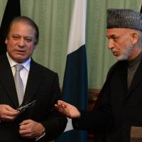Pakistani Premier Sharif discusses Taliban peace deal, energy on Kabul visit