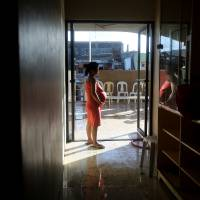 Risk factor: A pregnant woman waits to give birth in a hospital Nov. 16 in Tanauan town in the Philippines. A recent study found that phthalates commonly found in plastics, lotions and food packaging may cause preterm delivery. | AP