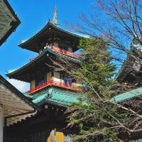Parts of the Fujiya Hotel show the distinct influence of temple architecture. | CHRIS BAMFORTH PHOTO