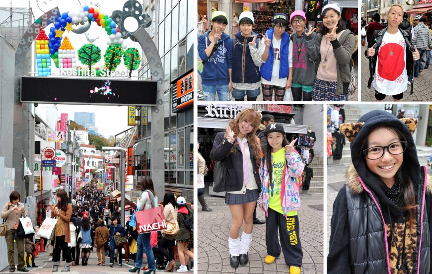 In touristy Tokyo, Harajuku still stands out from the crowd
