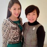 Grievance probed: Ikumi Yoshimatsu (left), 2012 winner of the Miss International contest, meets Akie Abe, Prime Minister Shinzo Abe's wife, in Tokyo on Wednesday. | IY GLOBAL