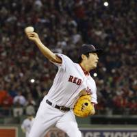 Major presence: Koji Uehara emerged as one of MLB's most surprising success stories over the final half of the 2013 season, taking over as the Boston Red Sox full-time closer near midseason and saving 21 games with 4-1 record and a 1.09 ERA. In the postseason, he saved seven more games for the World Series champion Red Sox.  | KYODO