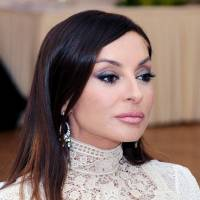 Face of a nation: Human rights advocates claims the family of Azerbaijan's first lady, Mehriban Aliyeva, is using the ostensibly independent European Azerbaijan Society trade body to further the regime's agenda. | WIKIPEDIA