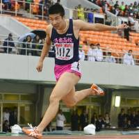 Youth movement: Yoshihide Kiryu shot to prominence in 2013 after recording Japan's second-fastest 100-meter time ever. | KYODO