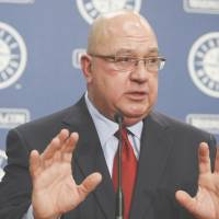 On the defensive: Seattle Mariners GM Jack Zduriencik has denied a report in The Seattle Times saying the club's front office is in disarray. | AP