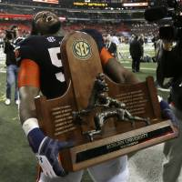 Eye of the Tiger: SEC champion Auburn will get the chance to add a BCS championship to its trophy case. | AP