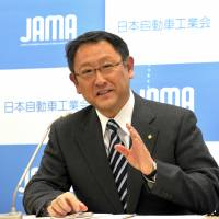 Toyoda says car industry must be more aggressive