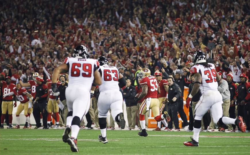 49ers battle past Falcons in Candlestick finale