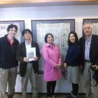 Book showcases foreigners, Japanese affected by 3/11