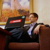 Snowden declares his mission accomplished