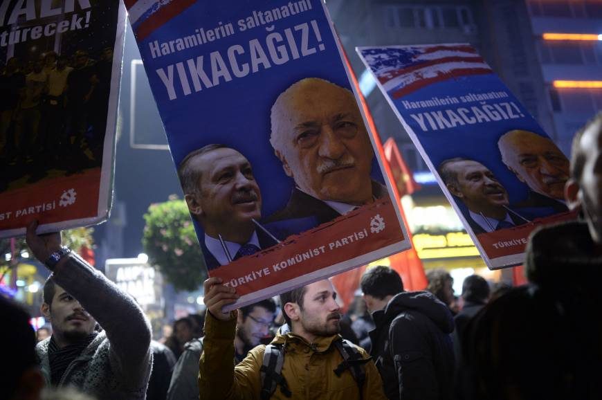 Turkish leader traces turmoil to ex-ally in U.S.