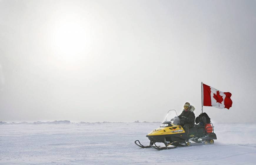 Canada plans to claim North Pole