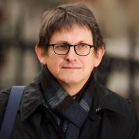 Prepared answers: Alan Rusbridger, the editor of the Guardian, is set to testify before the British parliament's Home Affairs Select Committee this week.   AFP-JIJI