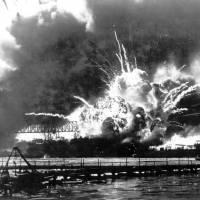 A blast from the past: A magazine in the destroyer USS Shaw explodes after the ship was bombed during the Japanese attack on Pearl Harbor on Dec. 7, 1941. | AP