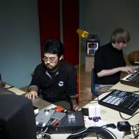 School's in: Yosi Horikawa (left) works on new material in a studio at the 2011 academy in Madrid. Both Horikawa and Liu are excited that the 2014 edition of the academy will be held in Tokyo. | DAN WILTON/RED BULL CONTENT POOL