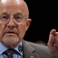 Director response: Director of National Intelligence James Clapper testifies on Capitol Hill on Oct. 29. | AP