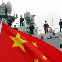 U.S., Chinese warships nearly collide in South China Sea