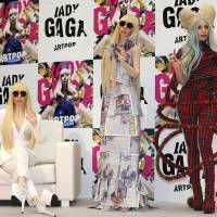 Lady Gaga gets dolled up in Tokyo