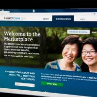 What the?: A woman views the HealthCare.gov insurance exchange Internet site on Oct. 1 in Washington, DC. The troubleshooter appointed by President Barack Obama to overhaul a bungled health care website rollout said Sunday that improvements had made a 'night and day' difference in handling online traffic.   AFP-JIJI