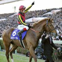 Orfevre closes career with sensational victory