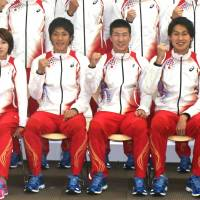 Japan relay squad striving for consistent success
