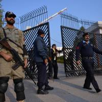 Security scare delays trial for Pakistan's Musharraf