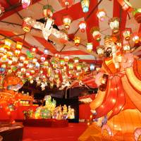 Nagasaki lights up for the Chinese New Year