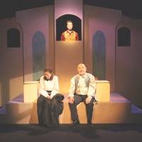 Woman's-eye 'Merchant' duo reflects favorably on Shylock role
