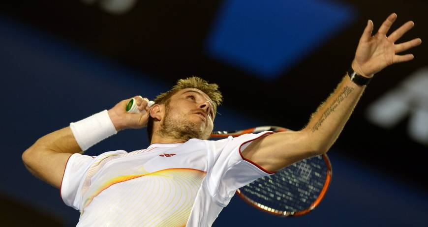 Wawrinka reaches first Grand Slam final