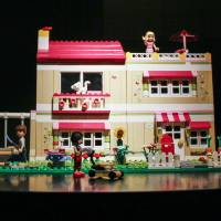 The house that Jill built: Writer Rachel Cooke believes that if more girls were encouraged to play with building toys such as Lego, then there may be more female architects and engineers. Though Lego's idea of pink bricks and flower motifs is not what Cooke means. | BLOOMBERG