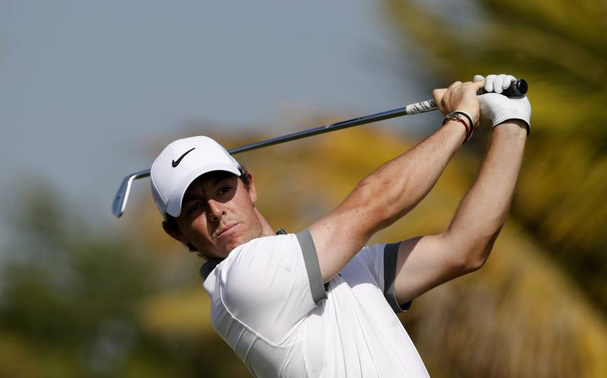McIlroy out to early lead in Dubai
