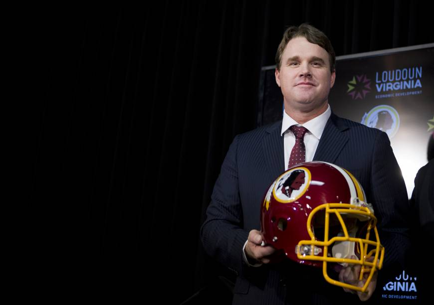 Redskins give new coach Gruden five-year deal